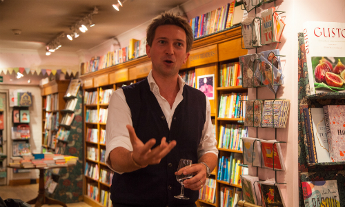 Daunt Books launch speech