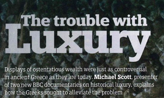 The Trouble with Luxury
