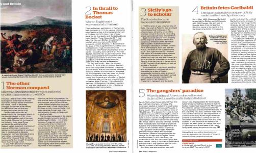 Sicily and Britain - BBC History Magazine January 2017