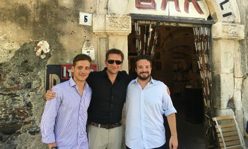 Filming Sicily