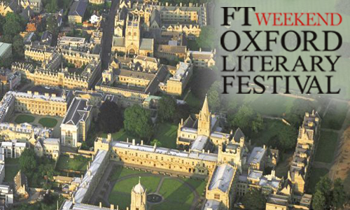 Oxford Literary Festival 27th March 2017