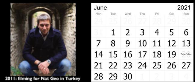 Prof Michael Scott Calendar 2